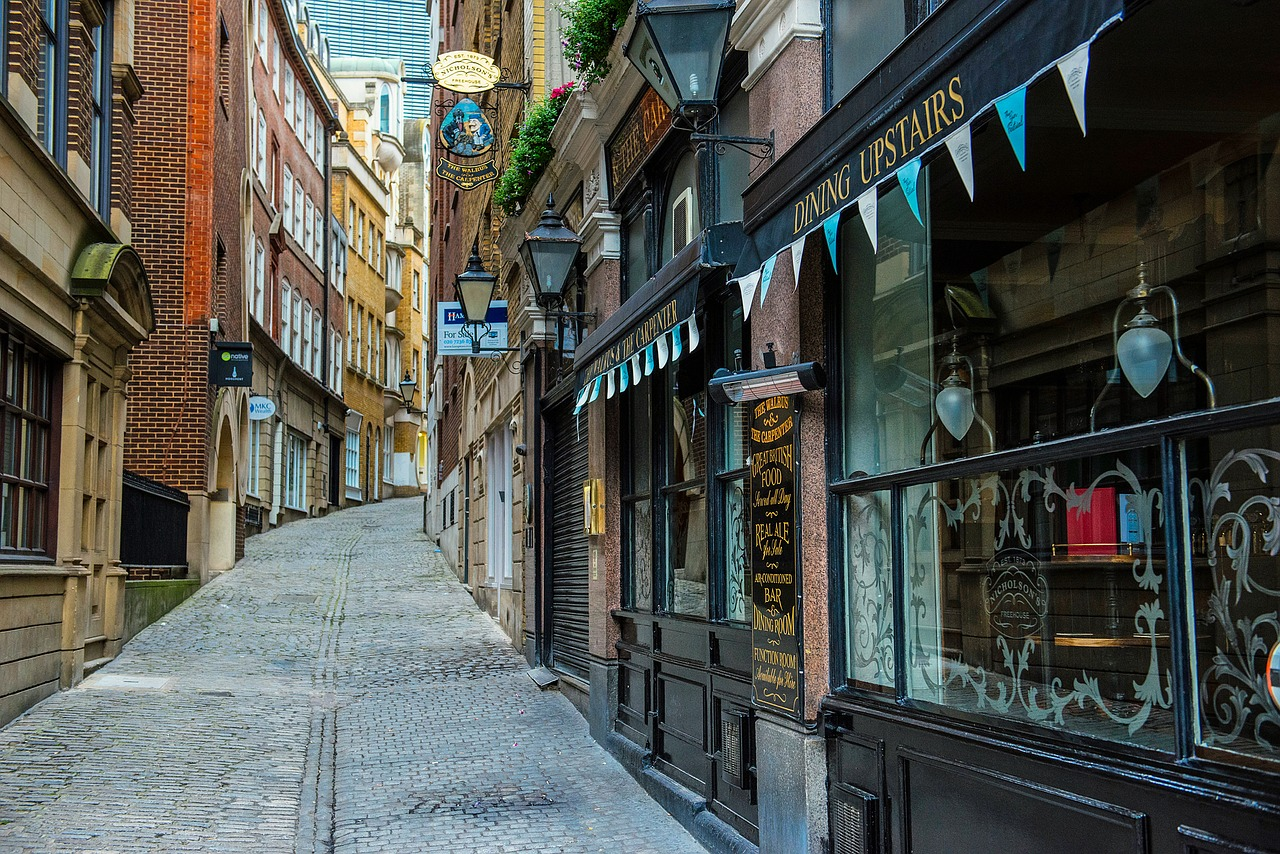 aprire un negozio a Londra