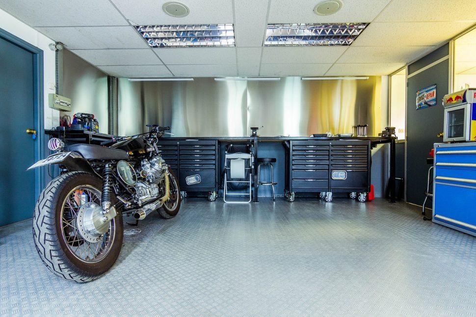 Aprire una moto officina